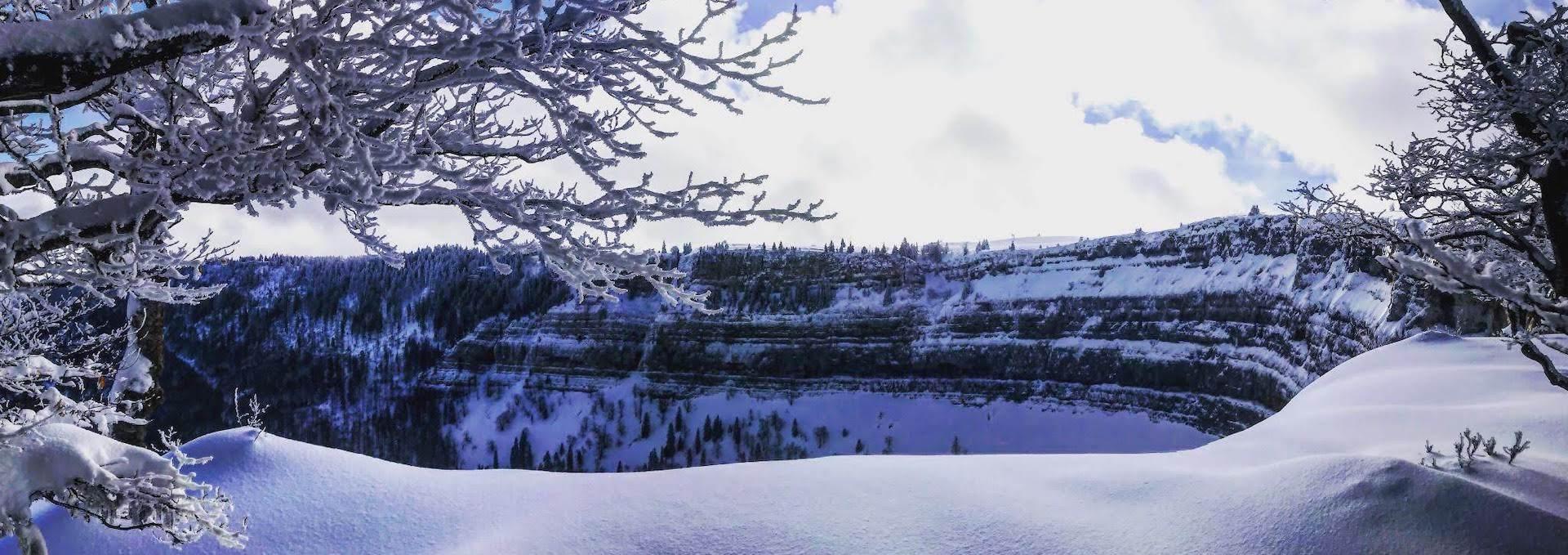 Randonnée guidée au Creux du Van, Val-de-Travers, © Tourisme neuchâtelois