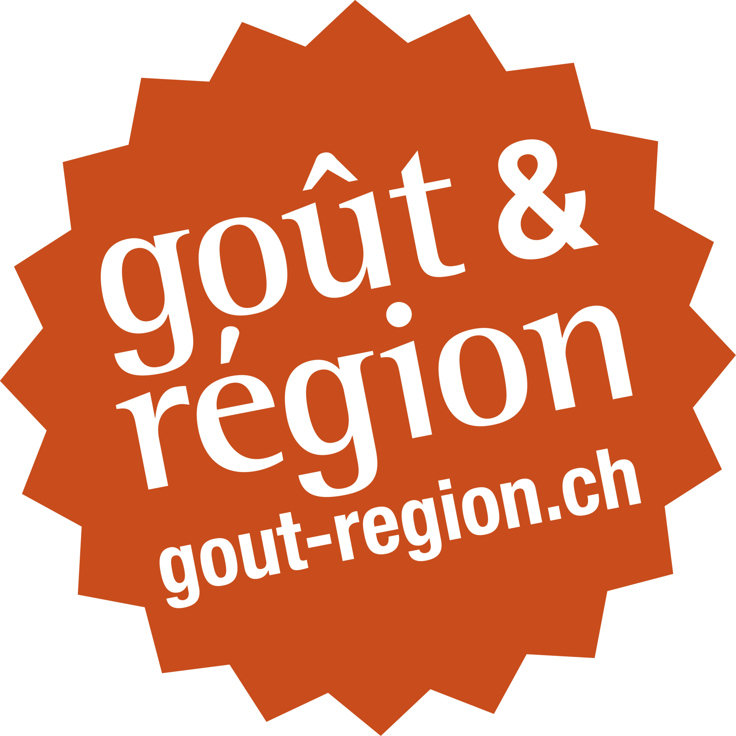 Logo orange de Goût & Région