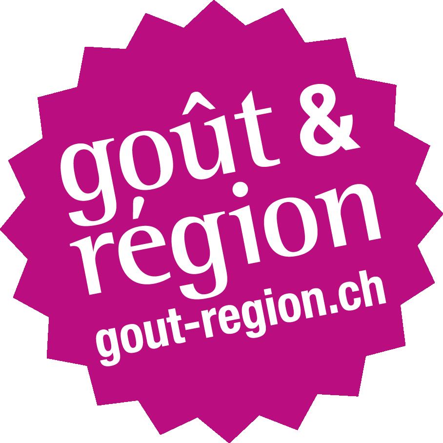 Logo magenta de Goût & Région