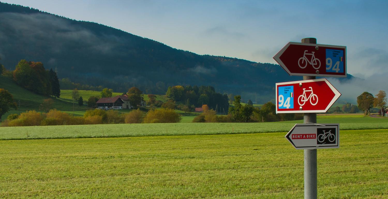 Veloroute Nr. 94, Schweiz Mobil