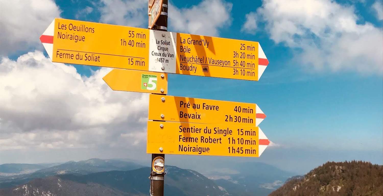 Panneaux Suisse Mobile