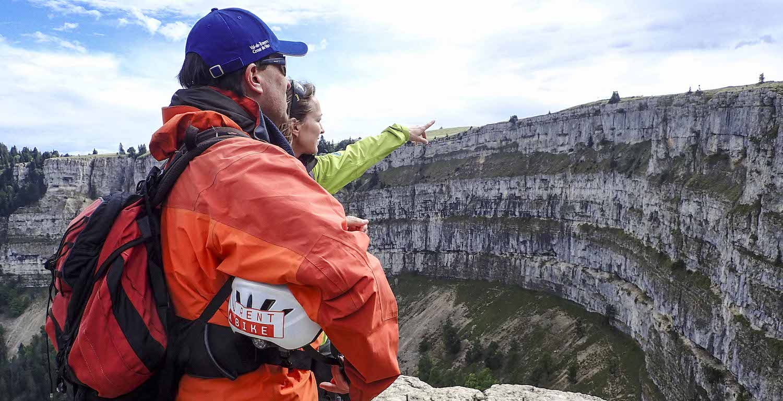 Geführte Wanderungen am Creux zu Van, Val-de-Travers